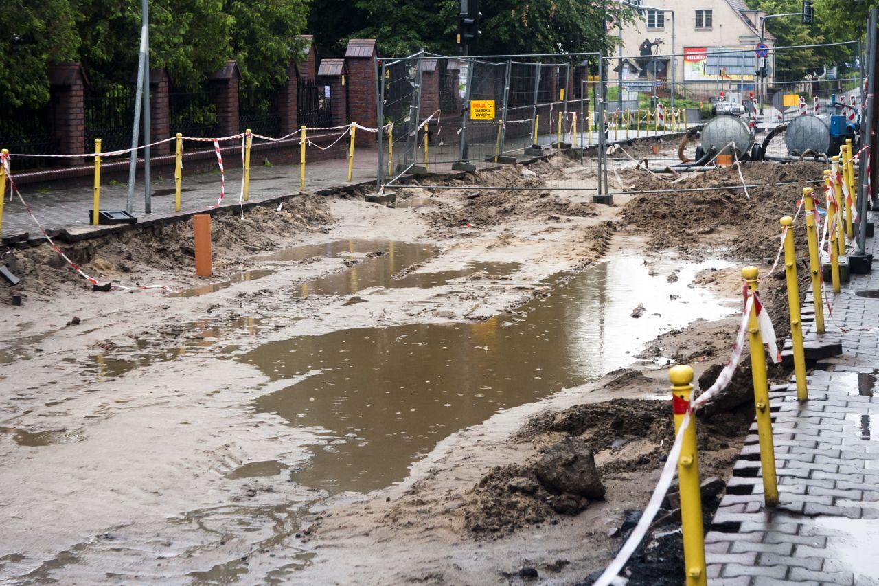 Co jest stosowane w ramach rozsączania wody deszczowej?